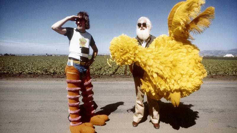Illustration for article titled The Caroll Spinney story is told sweetly but not inventively by I Am Big Bird