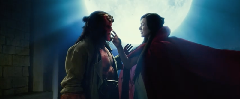The New Red-Band Hellboy Trailer Is as Gleeful as It Is Gory