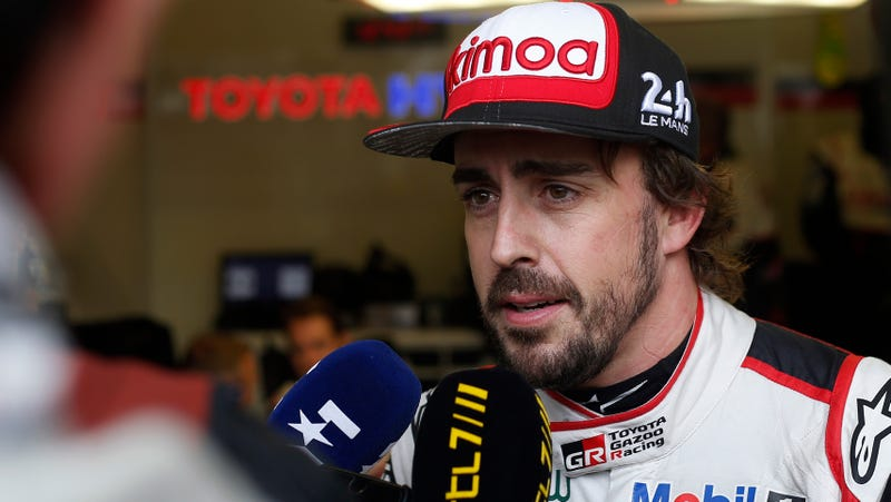 Illustration for article titled Fernando Alonso Rules Out a Full-Time IndyCar Campaign for 2019