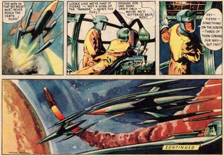 Illustration for article titled Dan Dare flies off with Gold Digital Radio award