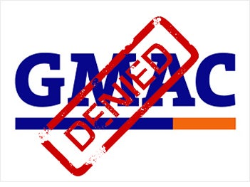Illustration for article titled GMAC Now Officially Requires 700-Plus FICO Score For New Car Loan
