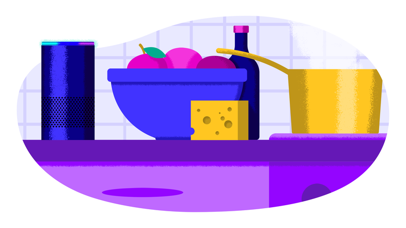 Illustration for article titled My Mom's Alexa Gets Her Groceries — And Her Music Taste