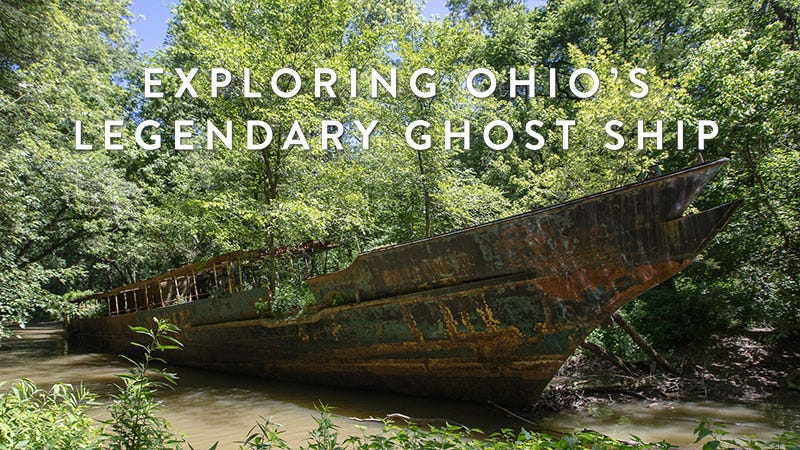 Illustration for article titled Explore Ohio's legendary 110-year-old ghost ship