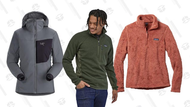 Layer up for Next Year With an Extra 25% off Patagonia and Arc Teryx Clearance at REI