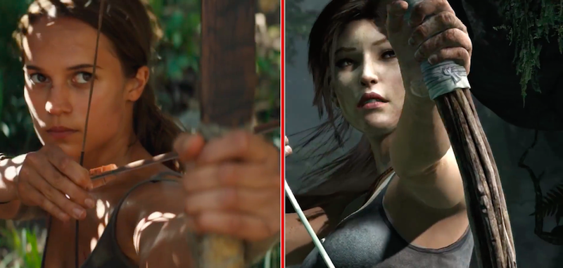 Image: Left: Warner Bros, Right: Square Enix. Screengrab: IGN