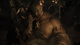 Illustration for article titled Warcraft Movie Footage Leaks From Comic Con