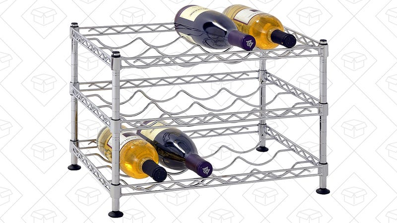 Muscle Rack 12-Bottle Wine Rack, $26