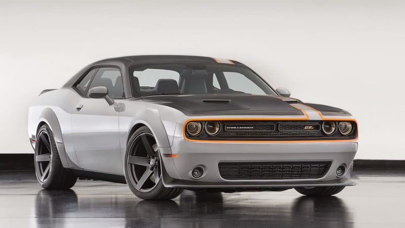Illustration for article titled Is This All-Wheel Drive Dodge Challenger Concept Amazing Or Completely Unnecessary?