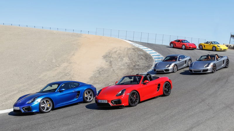 Illustration for article titled Want to choose the right Porsche Cayman or Boxster? Read this.