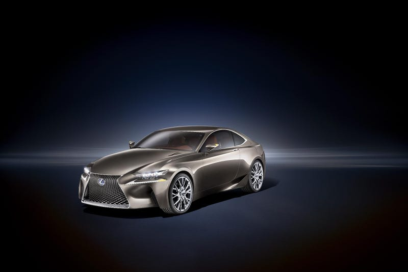 Illustration for article titled Lexus LF-CC Concept: First Photos