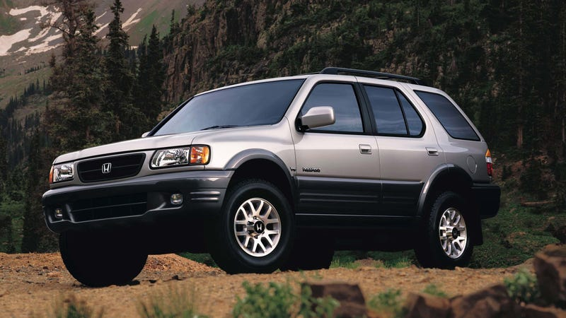 The 2002 Passport. Image: Honda