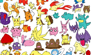 Illustration for article titled The Original 151 Pokemon, Drawn From Memory, Without Erasing