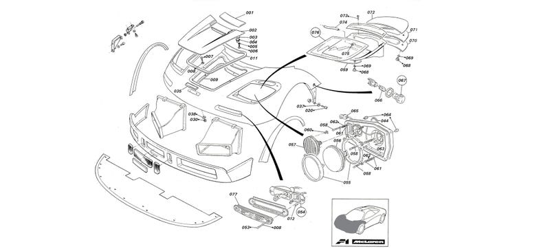 Illustration for article titled This Workshop Manual Comes Handy If You Have A McLaren F1 GTR