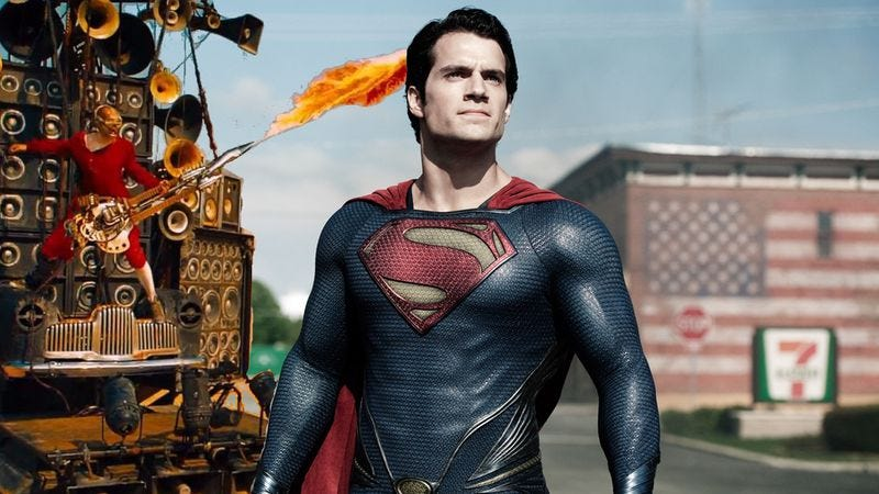Illustration for article titled It's Rumor Time: George Miller might direct Man Of Steel 2