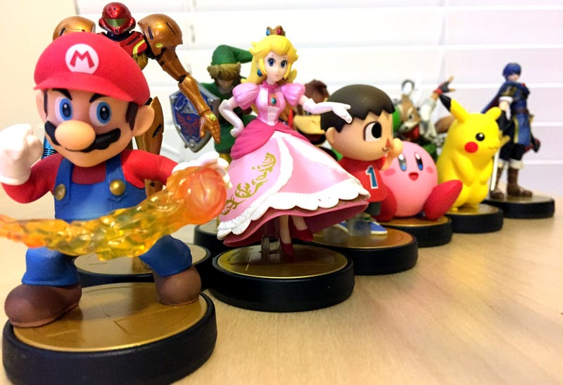 Illustration for article titled Up Close And Personal With Nintendo's Amiibo Figures