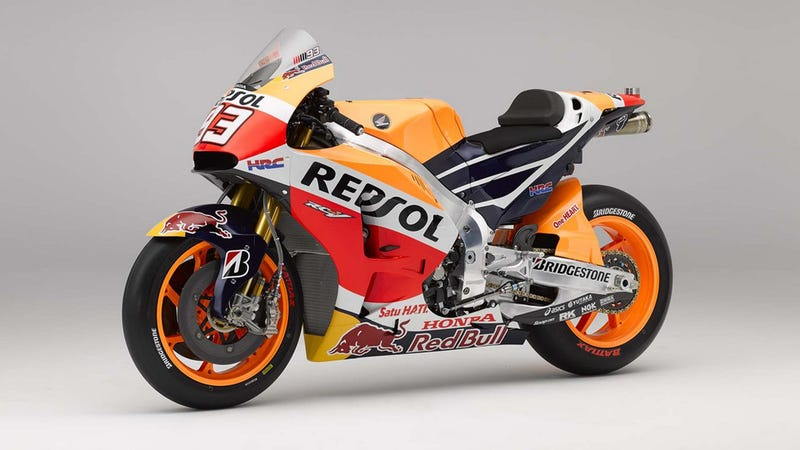 Illustration for article titled Here's Your Gratuitous 2015 MotoGP Honda RC213V Gallery