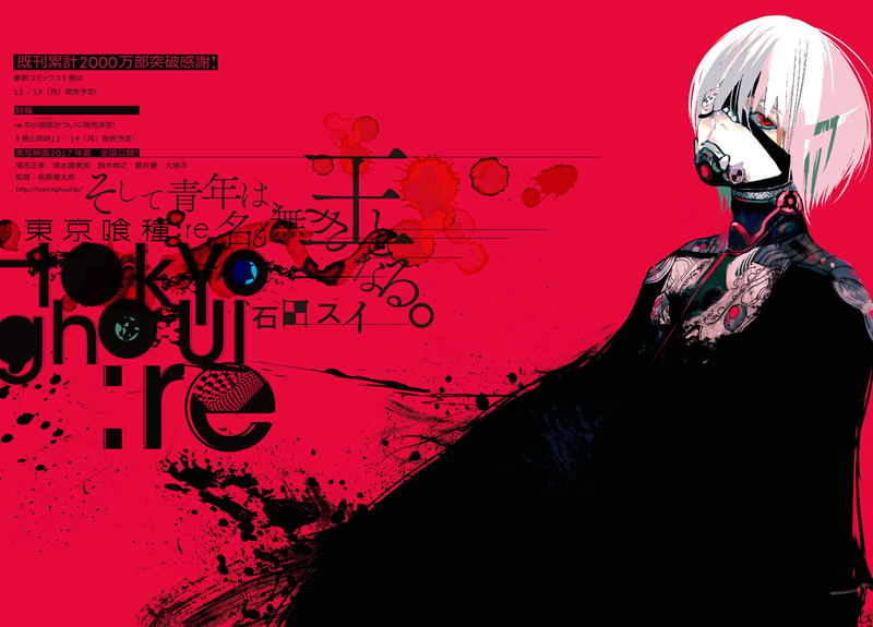 Adaptation Decay Special Tokyo Ghoul Re The Anime
