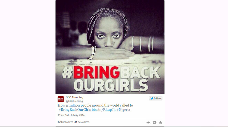 Illustration for article titled Girl In Viral #BringBackOurGirls Photo Neither Nigerian Nor Abducted