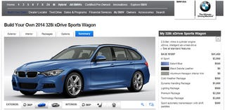 Illustration for article titled You May Now Configure Your Own Very Expensive 3-series Wagon.