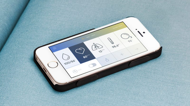 Illustration for article titled This Slim iPhone Case Works Like a Real-Life Tricorder