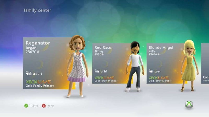 Illustration for article titled How Xbox 360's Live Gold Family Plan Could Be Free For You