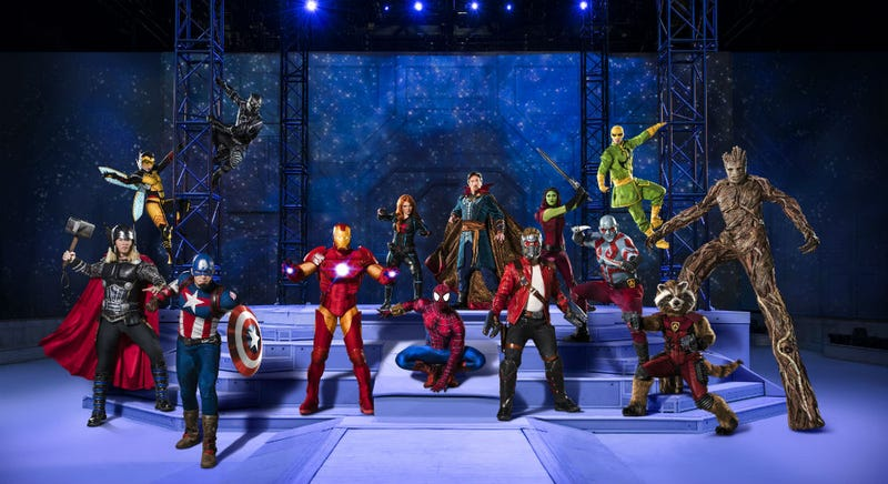 Marvel Universe Live: Age of Heroes is now touring. All Images: Marvel