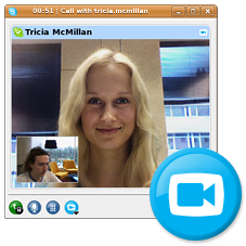 Illustration for article titled Skype 2.0 Beta Adds Video for Linux