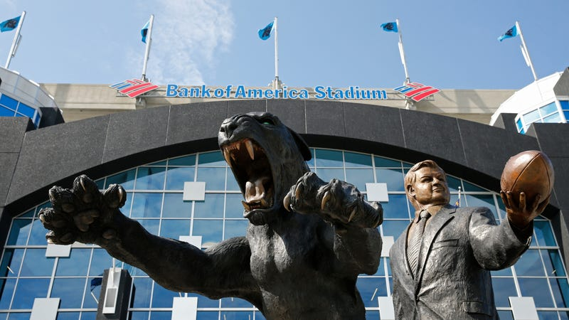 Illustration for article titled Jerry Richardson's Statue Is Staying Put At The Carolina Panthers' Stadium