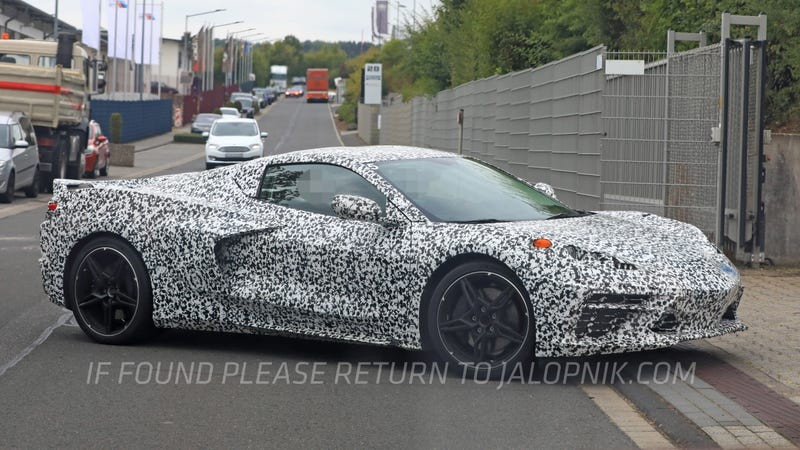 The Mid Engine Corvette Has Arrived At The Nurburgring