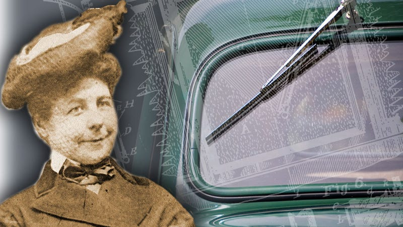Illustration for article titled Thank This Woman If You Like Seeing Out Of Your Windshield