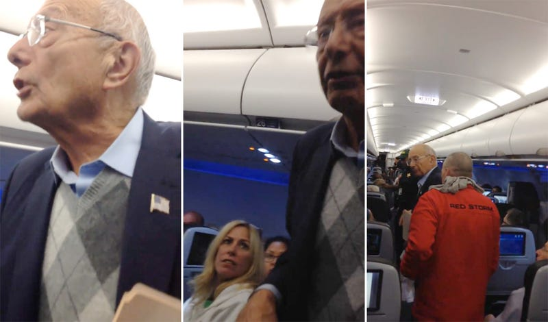 Illustration for article titled Former U.S. Senator Attempts People's Revolution (On JetBlue)
