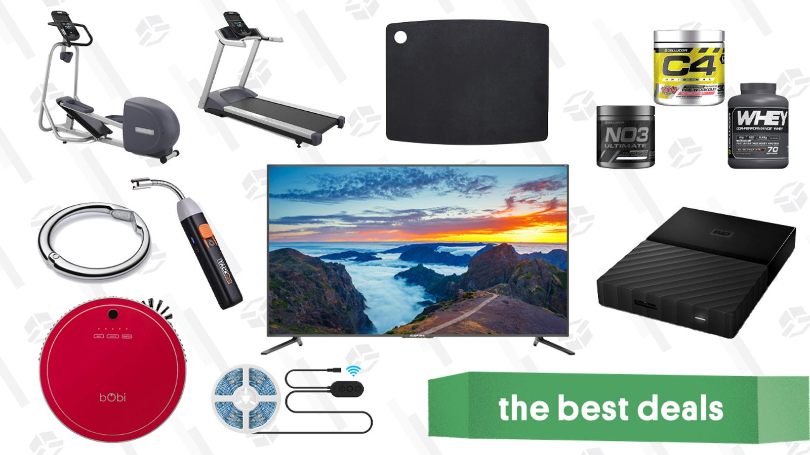 QnA VBage Thursday's Best Deals: Robotic Vacuums, SSDs, Precor Workout Equipment, and More