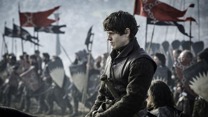 Evil Ramsay Bolton surveys his minions (All photos courtesy of HBO)