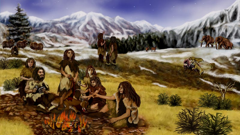 Illustration for article titled Did Neanderthals Talk Like Humans?