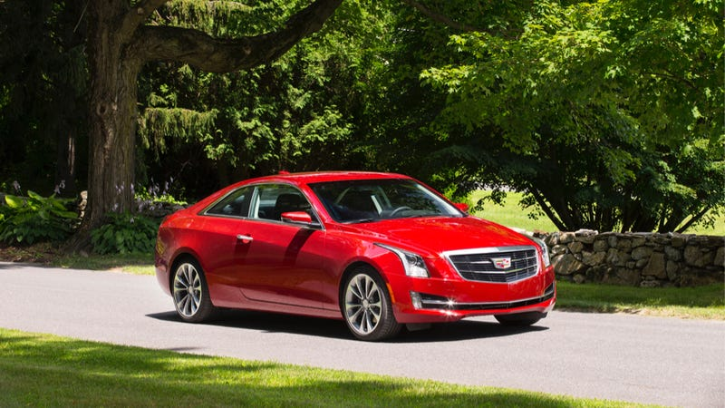 Illustration for article titled The 2015 Cadillac ATS Coupe Is A Nice New Car For Young Old Money
