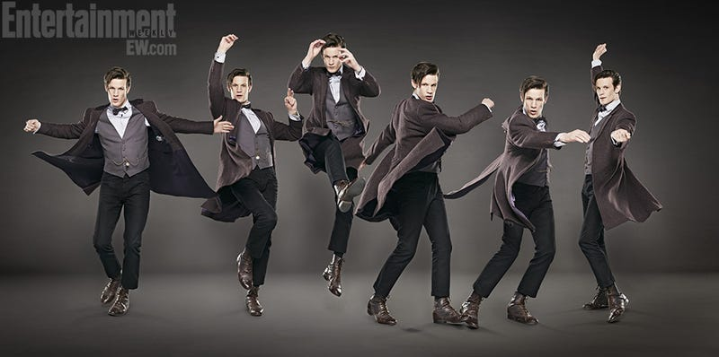 Illustration for article titled Entertainment Weekly has Doctor Who paper dolls for you to cut out and keep