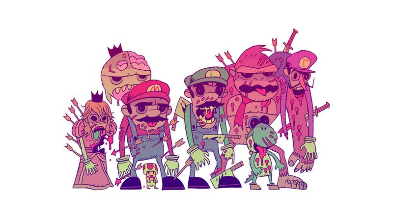 Illustration for article titled There Are No Safehouses in the Mushroom Kingdom