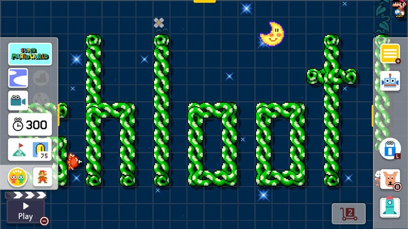 If You're Going To Play Mario Maker 2, You Should Probably