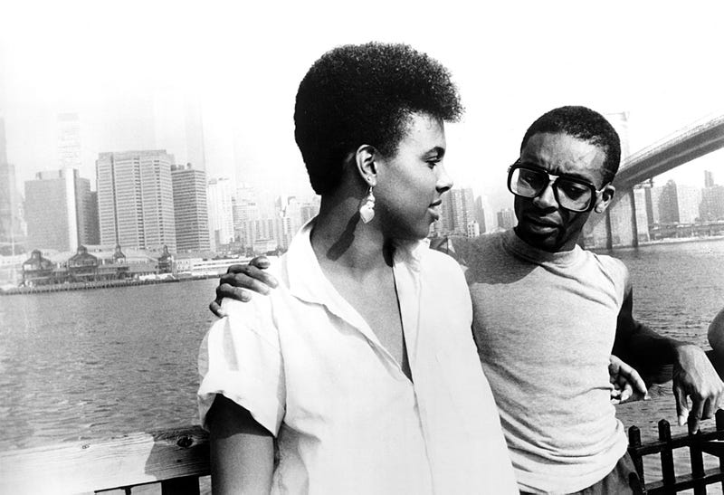 Tracy Camilla Johns and Spike Lee in She's Gotta Have It40 Acres & a Mule Filmworks