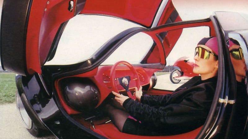 The enchanting Sbarro Osmos concept car. Photo Credit: Sbarro