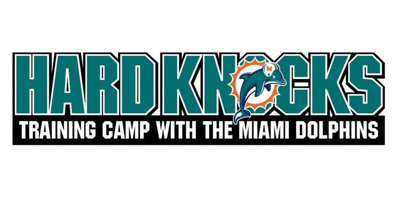Illustration for article titled Hard Knocks: Training Camp With The Miami Dolphins