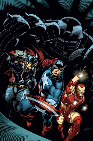 Illustration for article titled Marvel to reward comic shops for ripping up DC comics again
