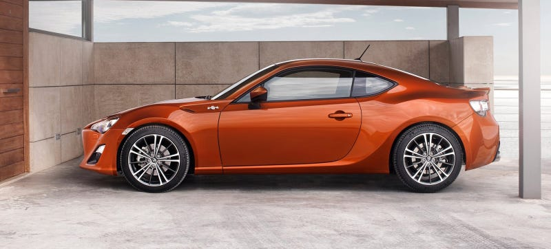 Illustration for article titled The Scion FR-S Will Be Called The Toyota FR-S Instead Of Something Crazier