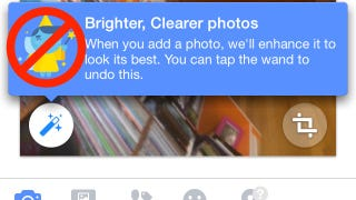 Illustration for article titled How to Disable Facebook's Automatic Photo Enhance Feature