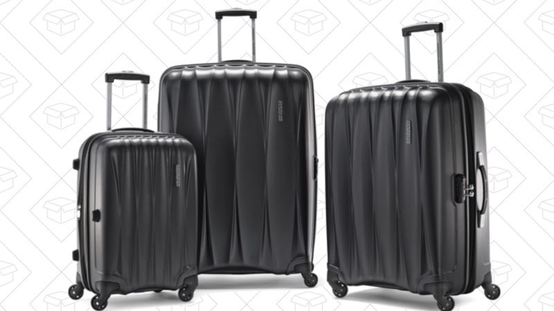 American Tourist Arona Hardside Luggage Set, $200 with code FALL200 - Black | Blue