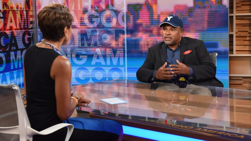 Robin Roberts interviews Geoffrey Owens on Good Morning America on September 4