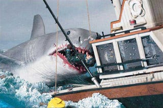 Illustration for article titled Remembering Bruce, the Mechanical Shark from Jaws