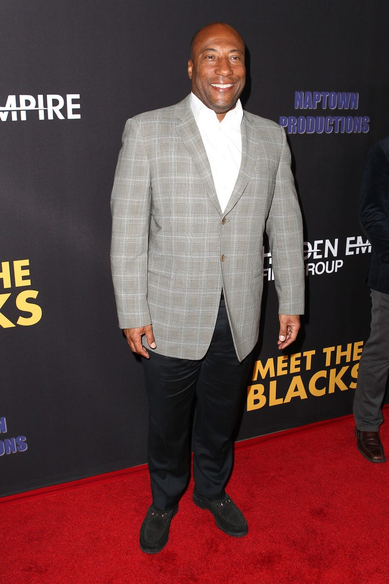TV producer Byron Allen attends the premiere of Freestyle Releasing's Meet the Blacks at ArcLight Hollywood in Los Angeles on March 29, 2016.Leon Bennett/FilmMagic/Getty Images