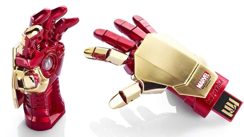 Illustration for article titled If This Iron Man Flash Drive Can't Protect Your Files, What Will?