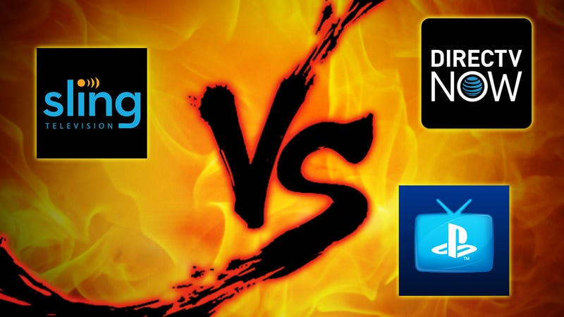Live Tv Streaming Showdown Sling Vs Playstation Vue Vs Directv Now